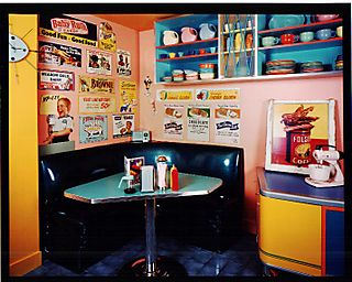 161DinerBooth